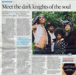 Observer Interview - Oct 2010
