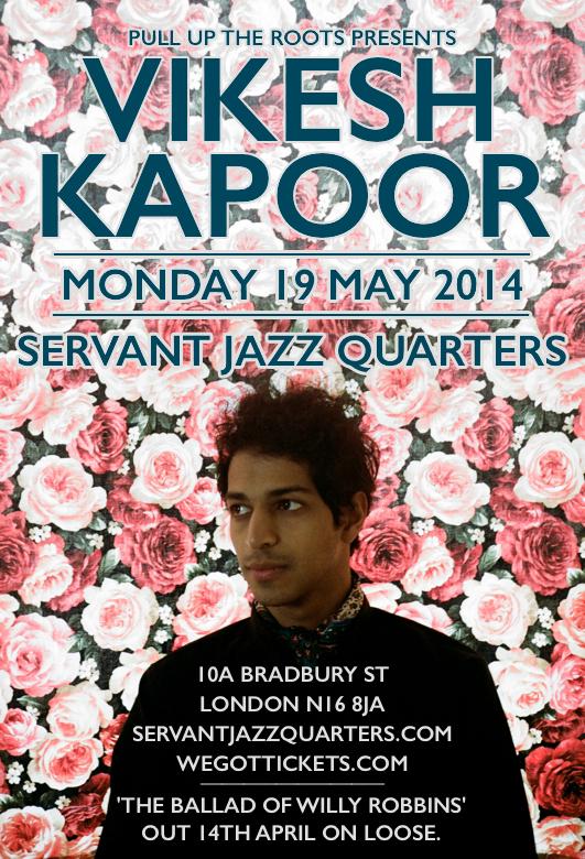 Vikesh_Kapoor_Monday_19_May_2014_London_Servant_Jazz_Quarters