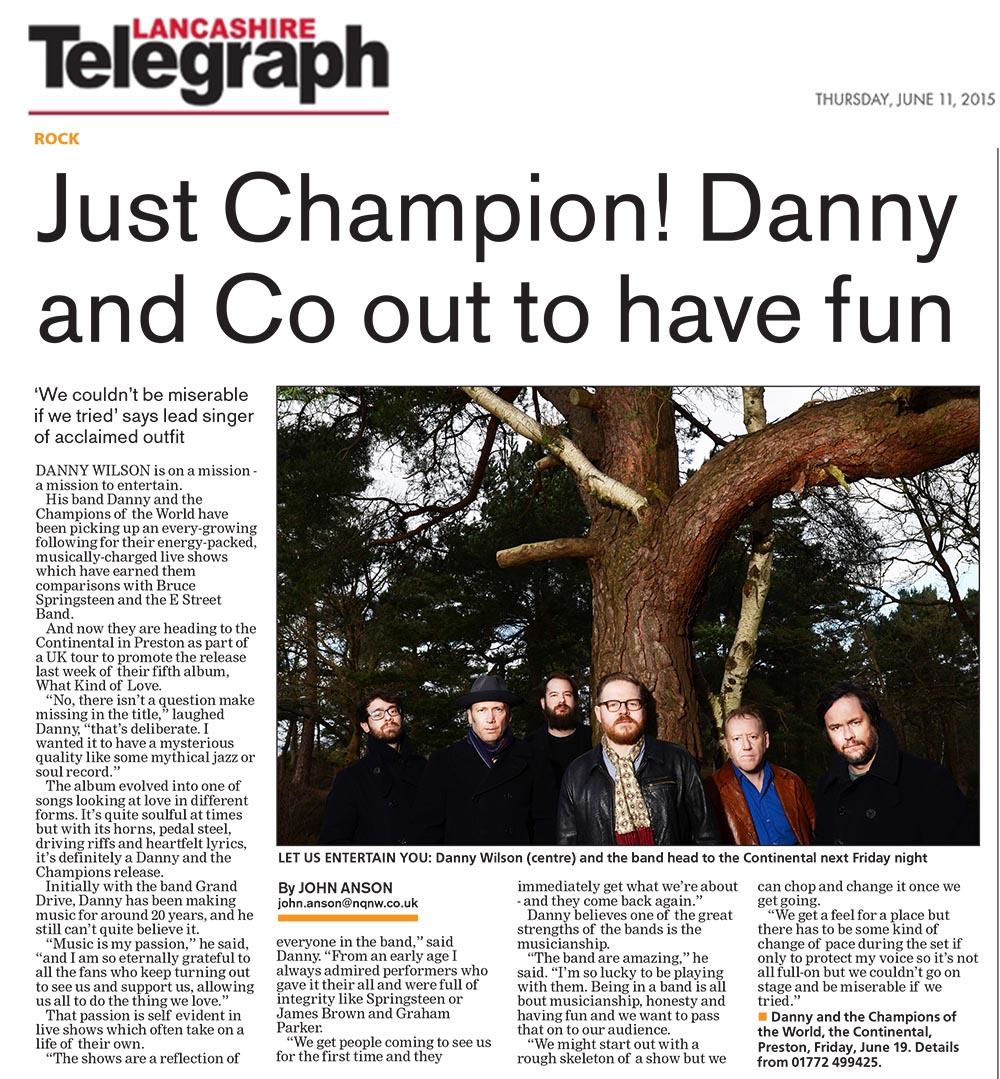 Lancashire Telegraph - 11 June 2015