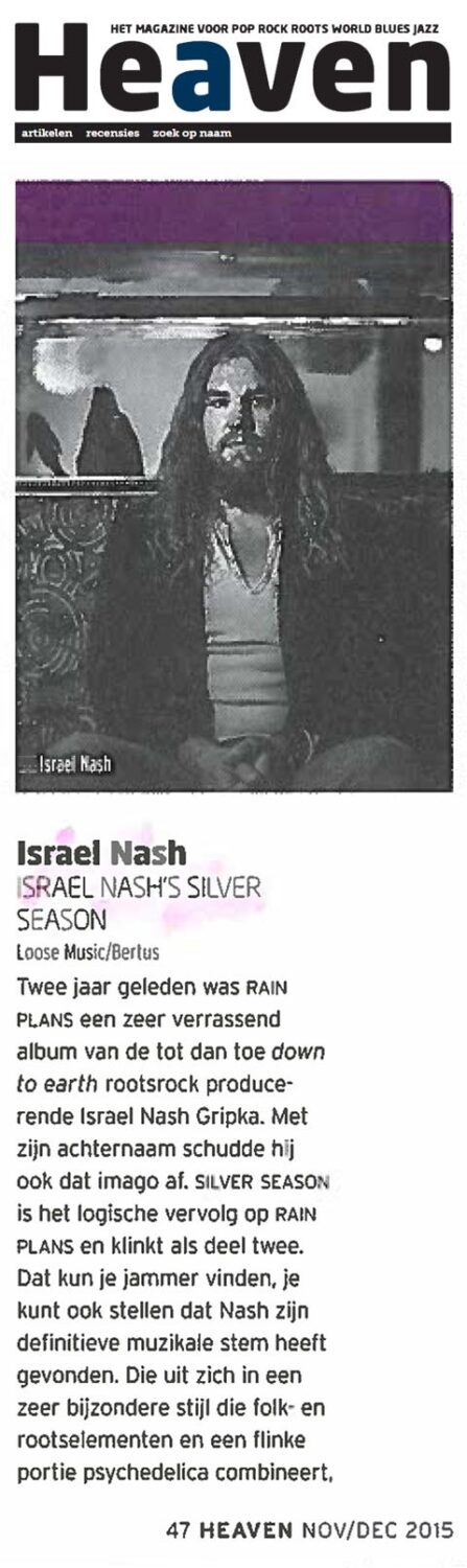 Israel Nash - Heaven - November 2015