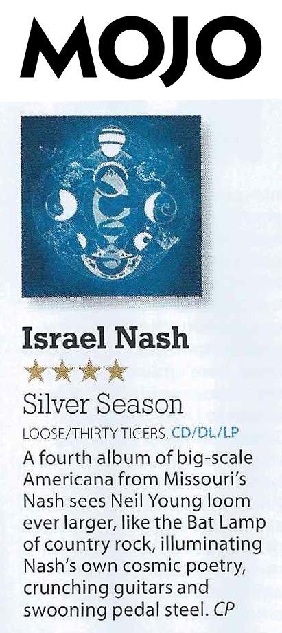 Israel Nash - Mojo - Nov 15