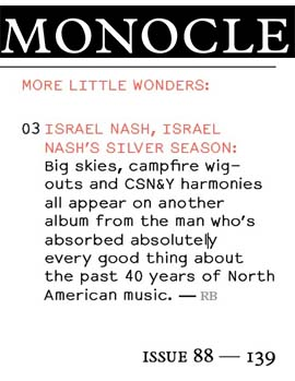 Israel Nash - Monocle - November 2015