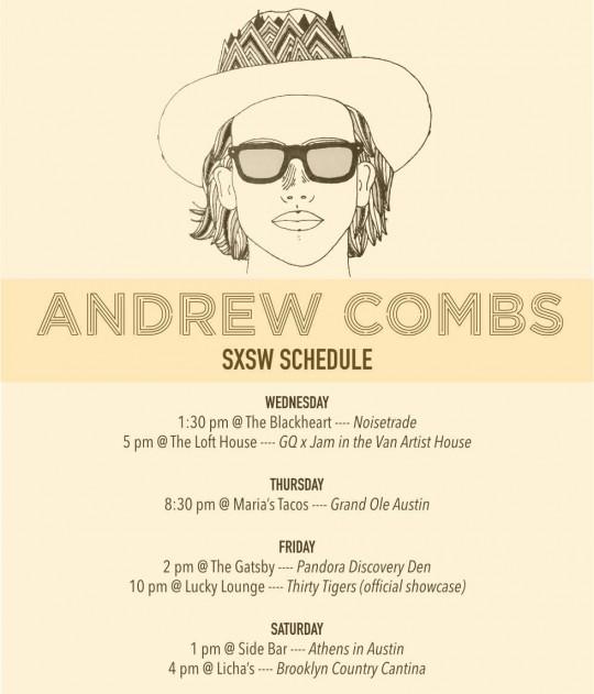 Andrew Combs SXSW 2015