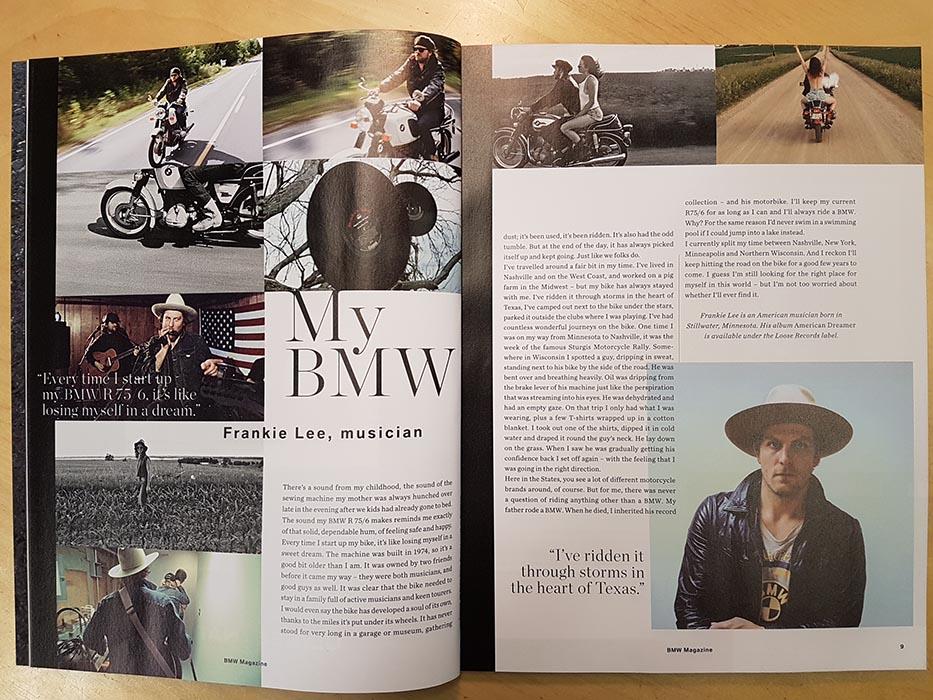 Frankie Lee - BMW Magazine 2016