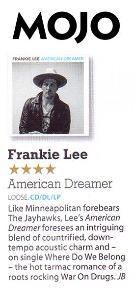 Frankie Lee - Mojo - Oct 15
