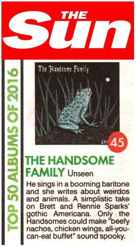The Handsome Family - The Sun - 16 Dec 2016