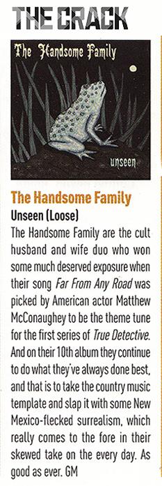 The Handsome Family - The Crack - September 2016