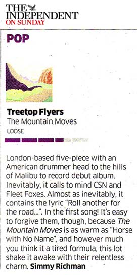 Treetop Flyers - May 2013 Independent