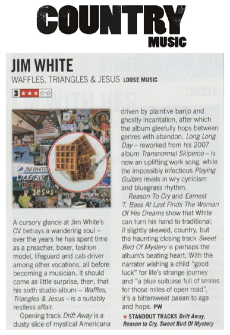 Jim White - Country Music Magazine - Jan 18