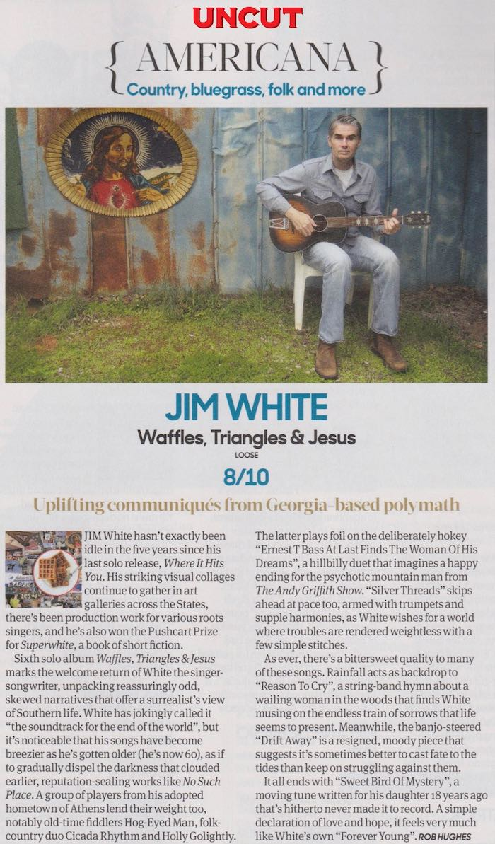 Jim White - Uncut - November 2017
