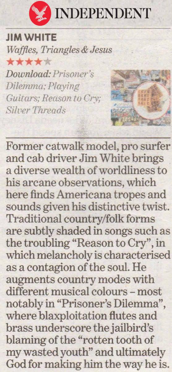 Jim White - The Independent - 10 November 2017