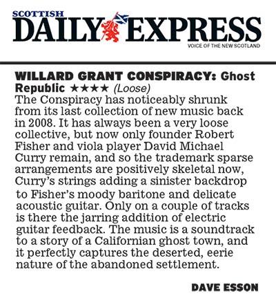 WGC - Scottish Daily Express