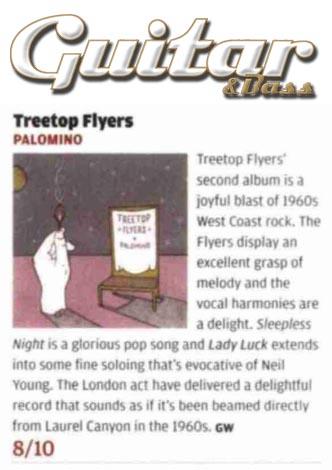Treetop Flyers - Guitar & Bass Magazine - January 2016