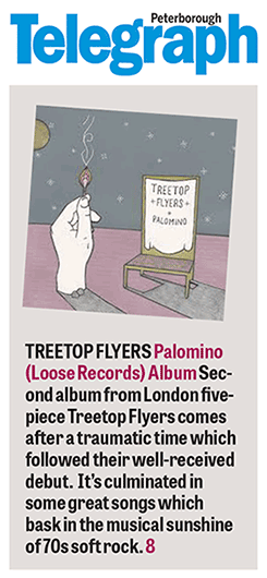 Treetop Flyers - Peterborough Telegraph - 31 March 2016