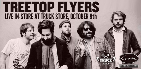Treetop Flyers Truck Store instore