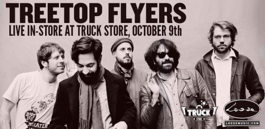 Treetop Flyers Truck Store instore