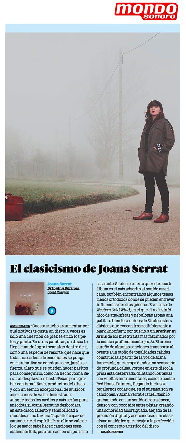 Joana Serrat - Mondo Sonoro - September 2017