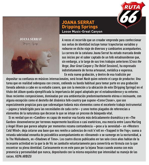 Joana Serrat - Ruta 66 - September 2017