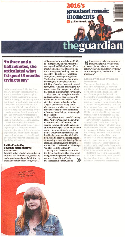 Courtney Marie Andrews - Guardian_ 30 Dec 2016