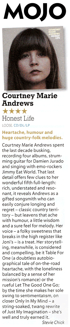 Courtney Marie Andrews - Mojo - January 2017