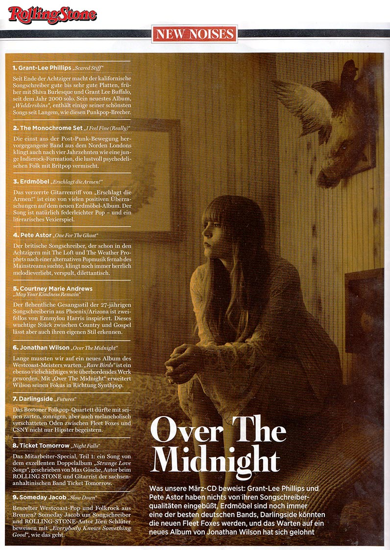 Courtney Marie Andrews - Rolling Stone Deutschland - 21 February 2018