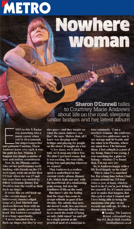 Courtney Marie Andrews - Metro - Sep 2017