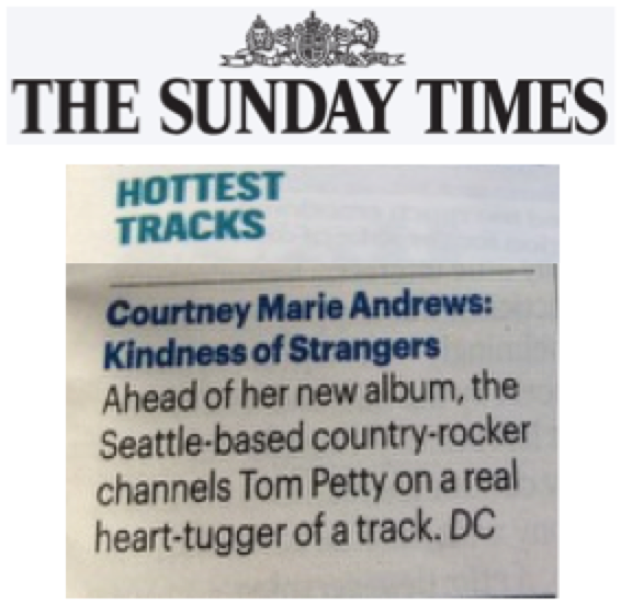 Courtney Marie Andrews - The Sunday Times - Feb 18
