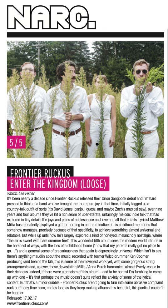 Frontier Ruckus - Narc - Feb 2017