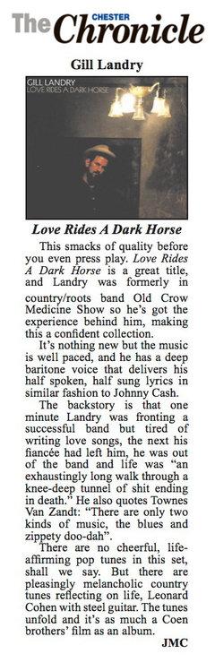 Gill Landry - Cheshire Chronicle - December 17