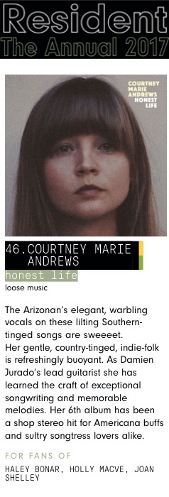 Courtney Marie Andrews - Resident Annual Top Albums of 2017
