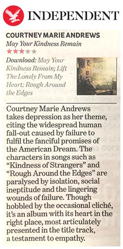 Courtney Marie Andrews  Independent - 23 March 2018