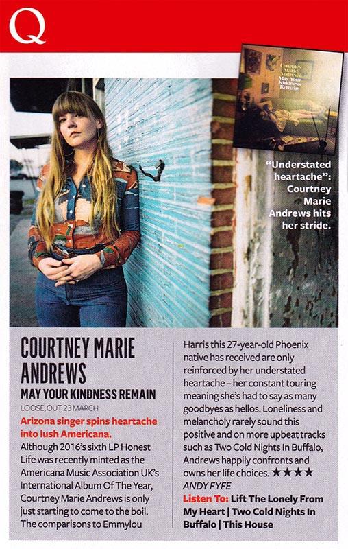 Courtney Marie Andrews - Q April 18