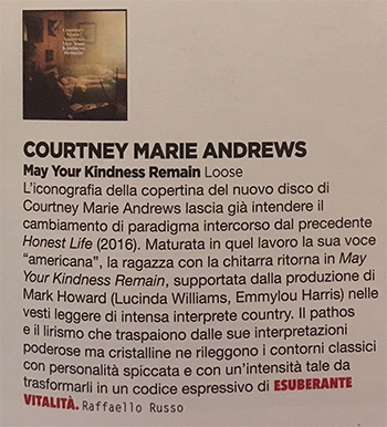 Courtney Marie Andrews - Rockerilla - March 2018