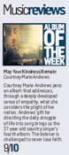 Courtney Marie Andrews - Courier And Advertiser - 31 March 2018