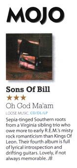 Sons of Bill  - Mojo - August 2018