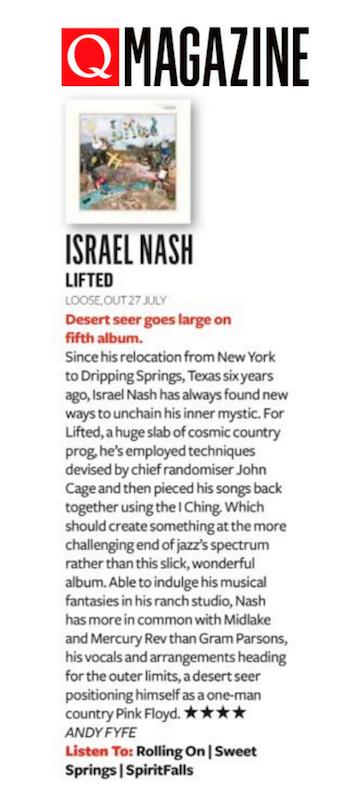 Israel Nash Q August 2018