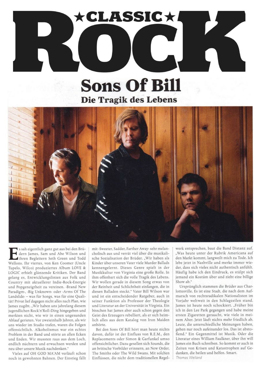 Sons Of Bill - Classic Rock - 19 July 2018 1