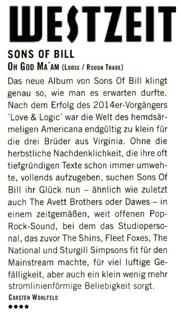 Sons Of Bill - Westzeit - 19th July 2018