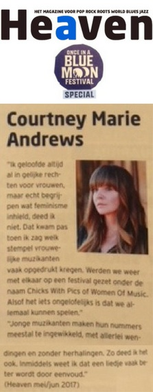 Courtney Marie Andrews - Heaven Blue Moon - 10 August 2018