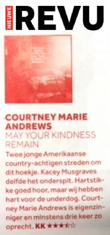 Courtney Marie Andrews - Nieuwe Revu - 11 Apri 2018