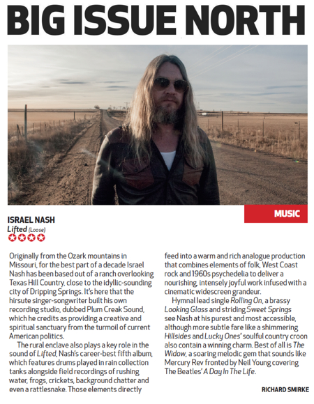 Israel Nash - Big Issue North - 30 July 2018