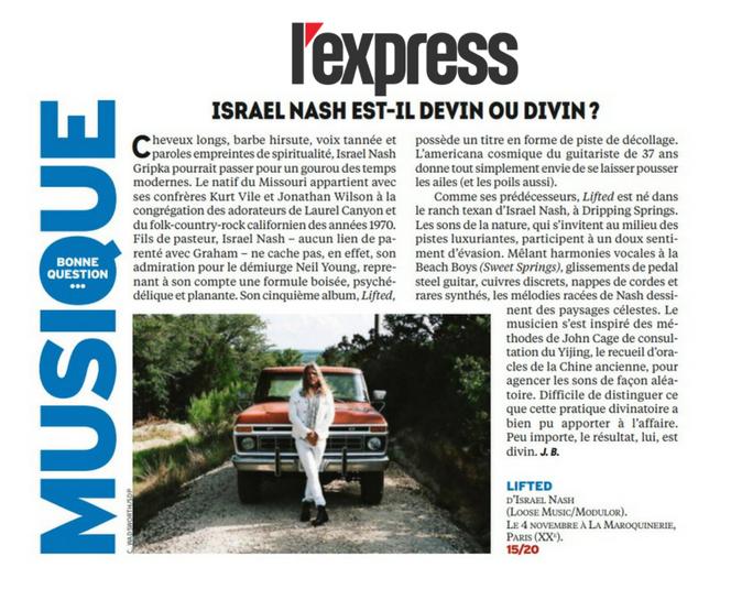 Israel Nash - L