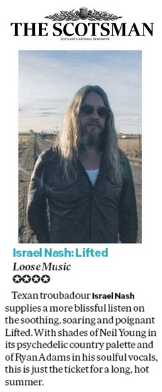 Israel Nash - Scotsman - 13 August 2018