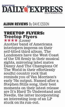 Treetop Flyers - Scottish Daily Express- 24 August - 2018