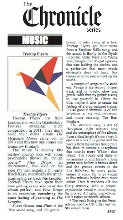 Treetop Flyers - The Chester Chronicle - 24 August 2018