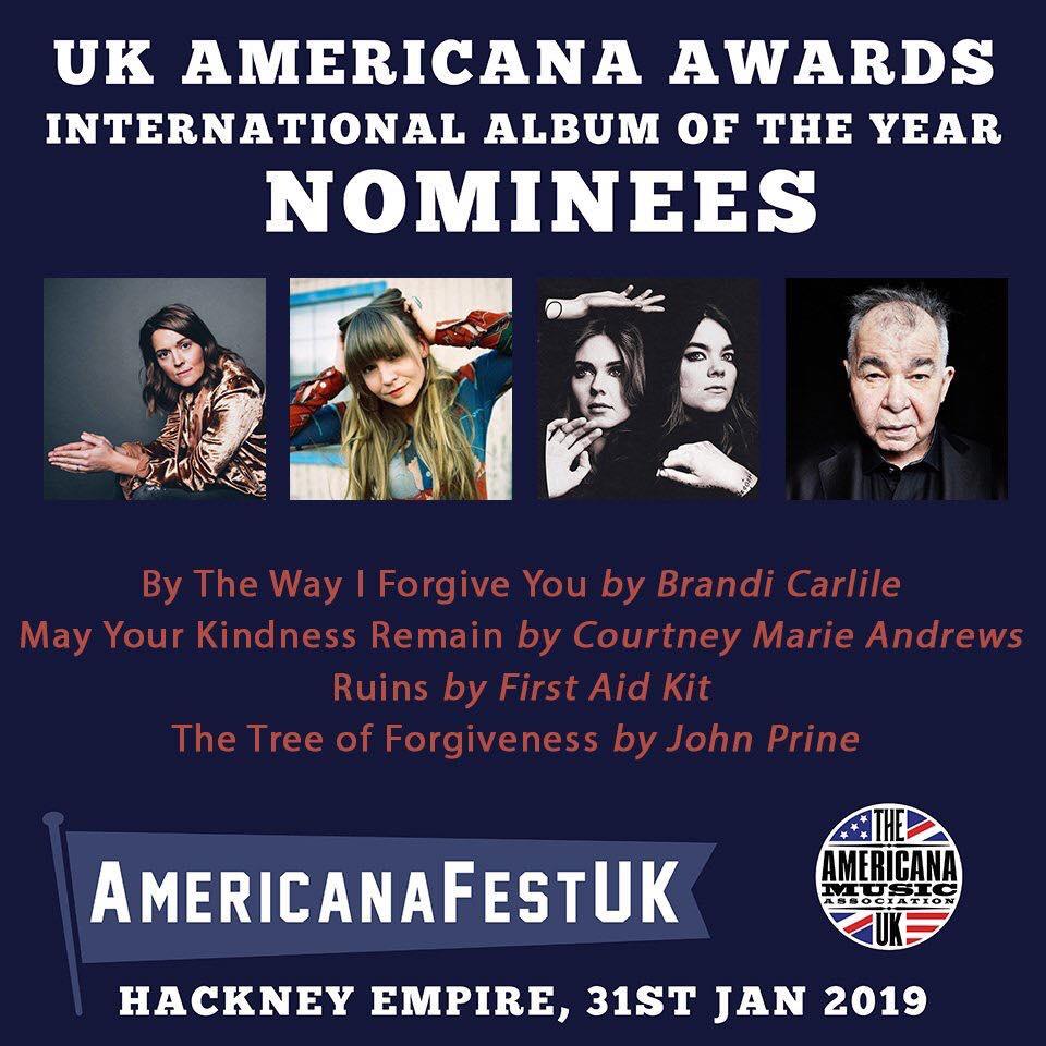 AMA UK 2019 Nominations Courtney Marie Andrews