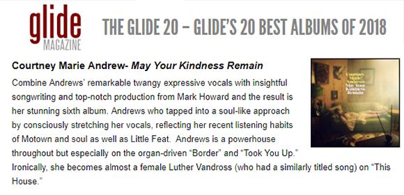 Courtney Marie Andrews - Glide Magazine -  November2018