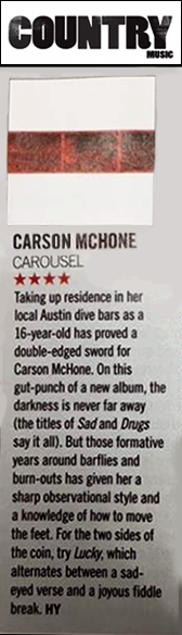 Carson Country - Music Magazine - December 2018