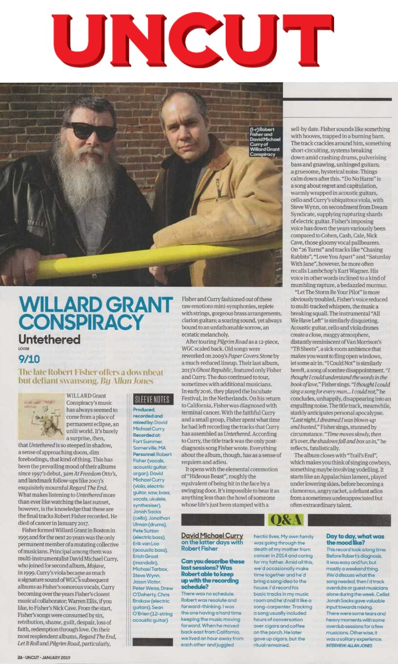 Willard Grant Conspiracy - Uncut - December 2018