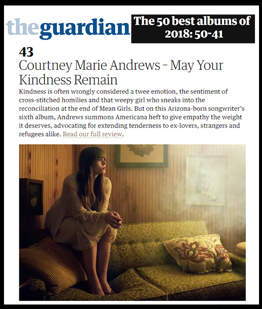 Courtney Marie Andrews - The Guardian - December 2018